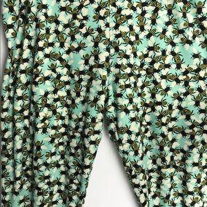 LuLaRoe Pants - LuLaRoe Bee Leggings Tall & Curvy 12-18